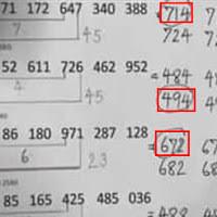 สูตรหวยทำมือเเม่นๆ เลขสามตัว งวดวันที่ 16/11/60