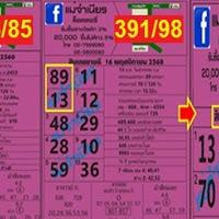 ผลงานเข้า 2 งวดติด เลขเด็ด สิบเลขขายดีแม่จำเนียร 2 ตัวบน-ล่าง งวดวันที่ 1/12/60
