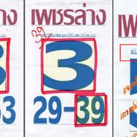 ห้ามพลาด หวยซองเพชรล่าง เลขเด็ด สองตัวล่าง งวดวันที่ 2/03/61