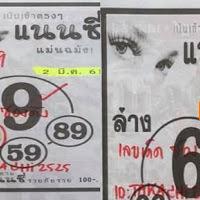 เลขเด็ดซองดัง หวยซองเเนนซี่ งวดวันที่ 16/03/61