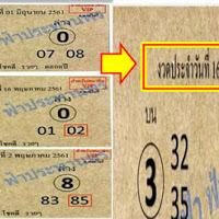 ไม่ตามไม่ได้เเล้ว เลขเด็ด อ.พงษ์โนรี งวดวันที่ 16/06/61
