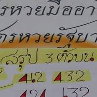 สูตรหวยรัฐบาลมืออาชีพ สรุป 3 ตัวบน 2 ตัวล่าง งวดนี้ 1/9/61