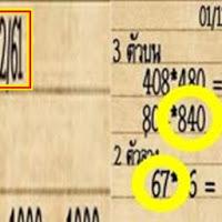 เลขจากไลน์ 3 ตัวบน 2 ตัวล่าง งวดวันที่ 16/12/61
