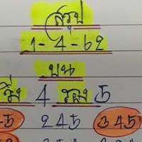 หวยทำมือ สรุปบน-ล่าง 3ตัว2ตัว งวดวันที่ 1/04/62