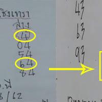 สูตรหวย อ.พี 3 ตัว ชุดสรุป 2ตัวบน-ล่าง งวดวันที่ 16/06/62