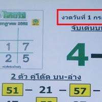 หวยดัง เลขเด็ด วิเคราะห์หวยไทยรัฐ งวดวันที่ 1/7/62